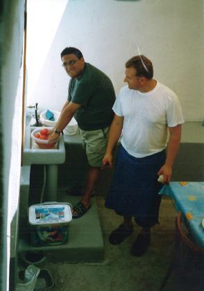 Brat Franjo s bratom Ivanom