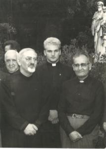 Brat Franjo s generalom Hansom Kolvenbachom